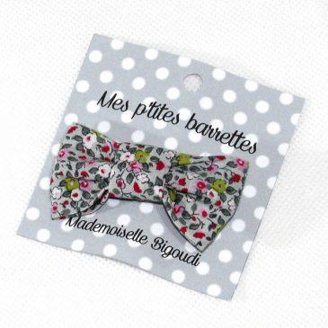 Mes petites barrettes de Mademoiselle Bigoudi/ pince crocodile Fleurettes