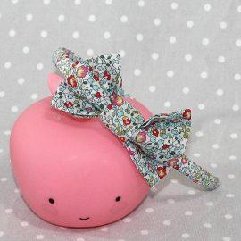 Serre-tête petit nœud/accessoire enfant Liberty Eloïse Mint