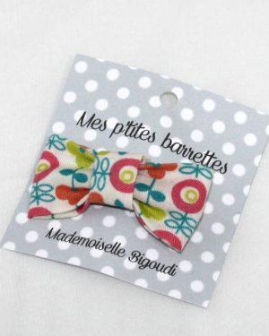 Mes petites barrettes de Mademoiselle Bigoudi/ pince crocodile fleurs