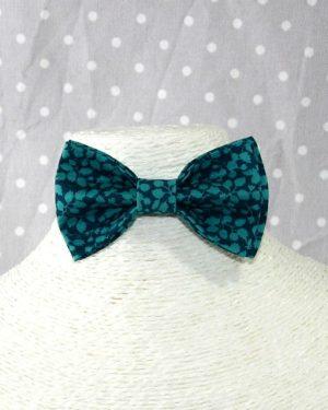 Nœud papillon pré-noué / ajustable enfant Liberty Glenjade Green turquoise