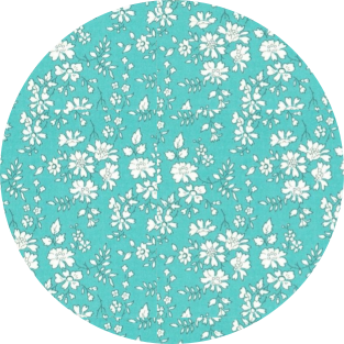 Capel Turquoise Liberty Mademoiselle PapetCie