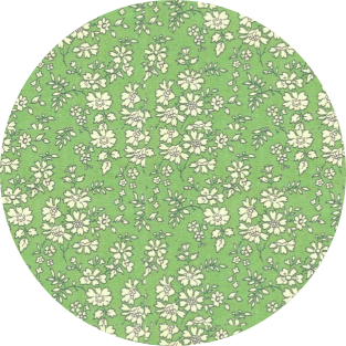 Capel olive green Liberty Mademoiselle PapetCie