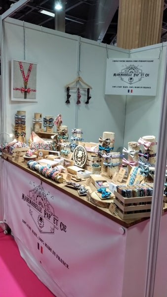 Mademoiselle Pap' et Cie stand Made in france expo 2019