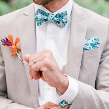 Accessoires homme pour Mariage Mademoiselle Pap et Cie Bretelle et noeuds papillon