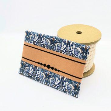 Pochette pour homme Liberty Morris Butterfly bleu