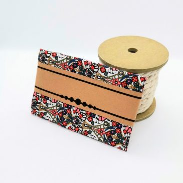 Pochette pour homme Liberty Morris Butterfly rouge