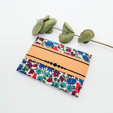 Pochette pour homme Liberty Poppy and Daisy Canard