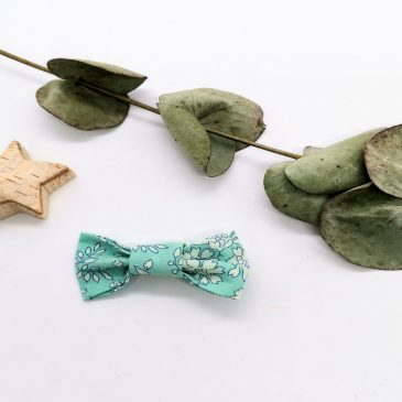 Barrette en Liberty Capel Mint
