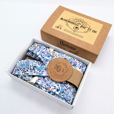 Bretelles homme Liberty Wiltshire Lilas