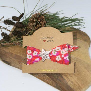 Bracelet à nouer femme Liberty Mitsi hibiscus