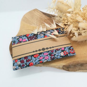 Pochette pour homme Liberty Alicia Bell Cassis